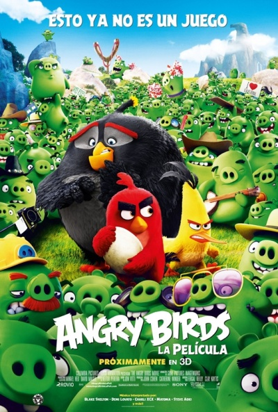 Angry Birds Pelicula Online