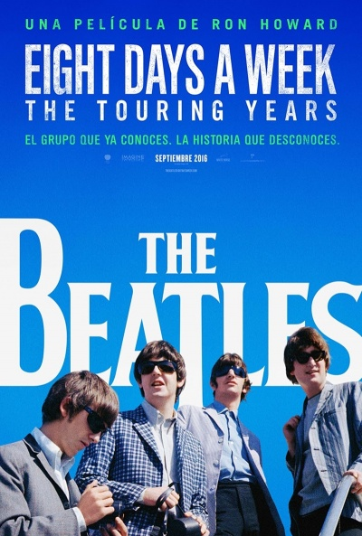 The Beatles Eight Days a Week The Touring Years Ver Pelicula Gratis