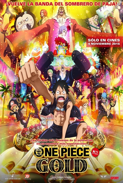 One Piece Film Gold Pelicula Online