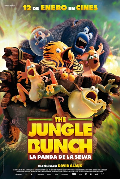 The Jungle Bunch - La panda de la selva Ver Pelicula Gratis
