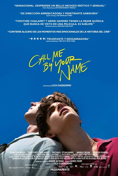 Call Me by Your Name Ver Pelicula Gratis