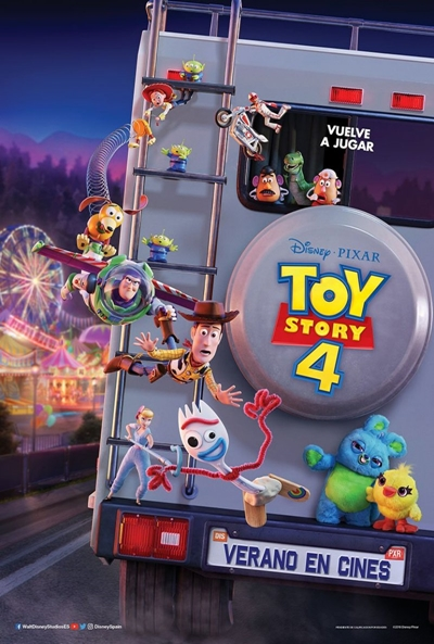 Toy Story 4 Pelicula Online