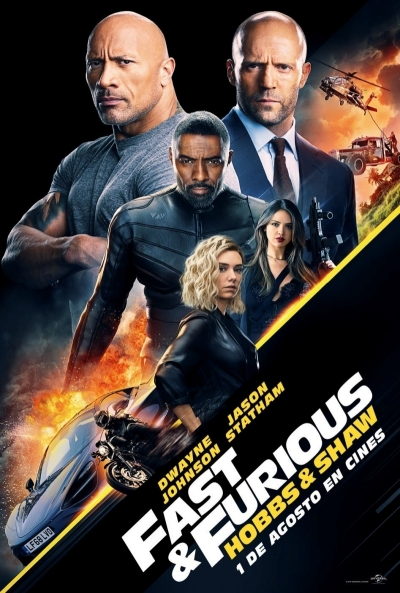 Fast & Furious - Hobbs & Shaw Pelicula Online