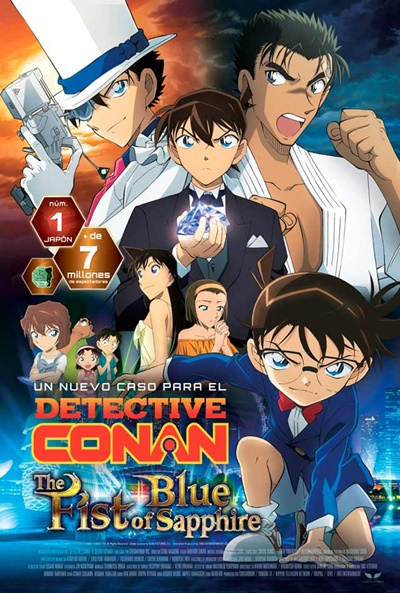 Detective Conan The Fist of Blue Sapphire Ver Pelicula Gratis